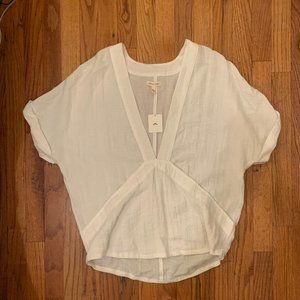Urban Outfitters - Silence + Noise Creme Top